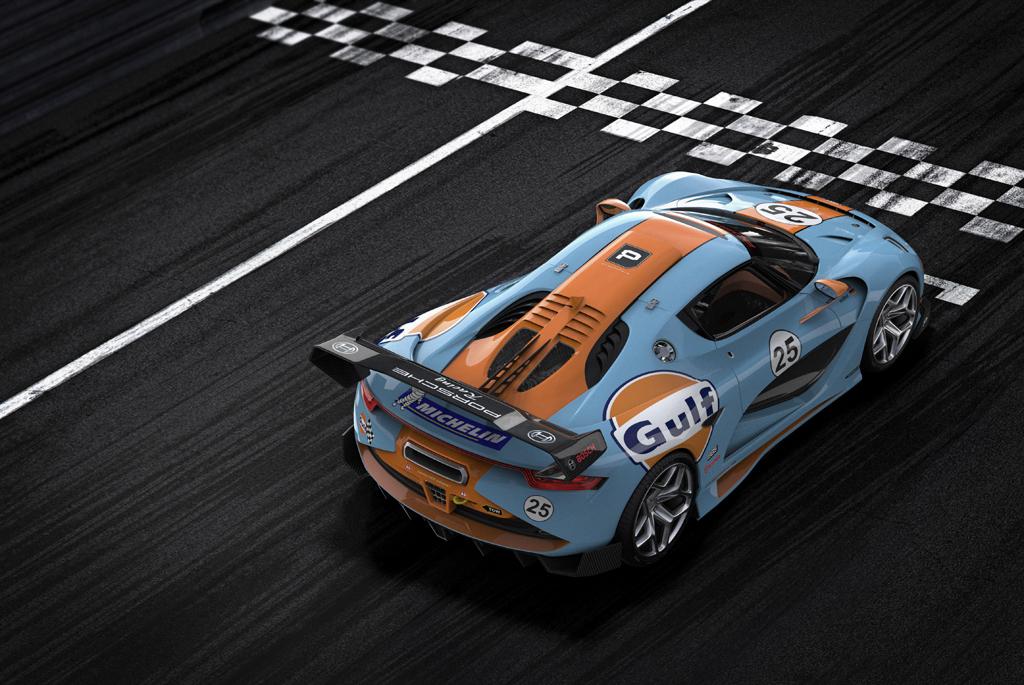 Porsche 913 Spyder Concept